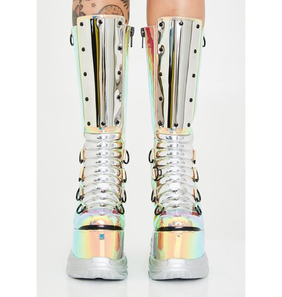Club Exx Mesmerizer Platform Boots
