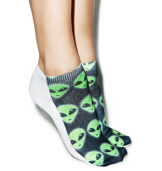 We Come In Peace Ankle Socks