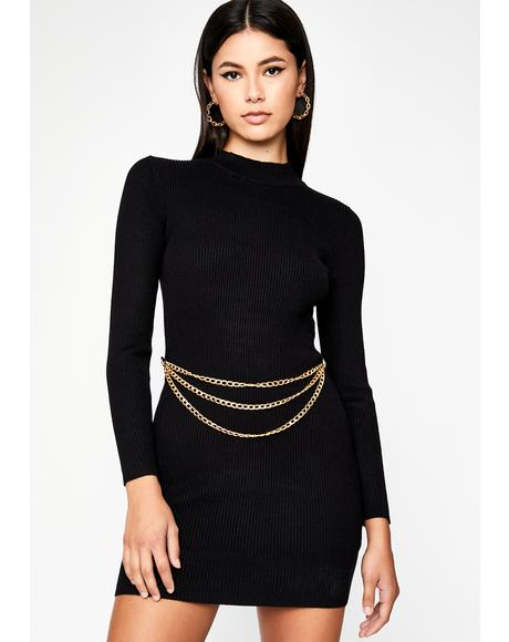 Status Quo Bodycon Dress