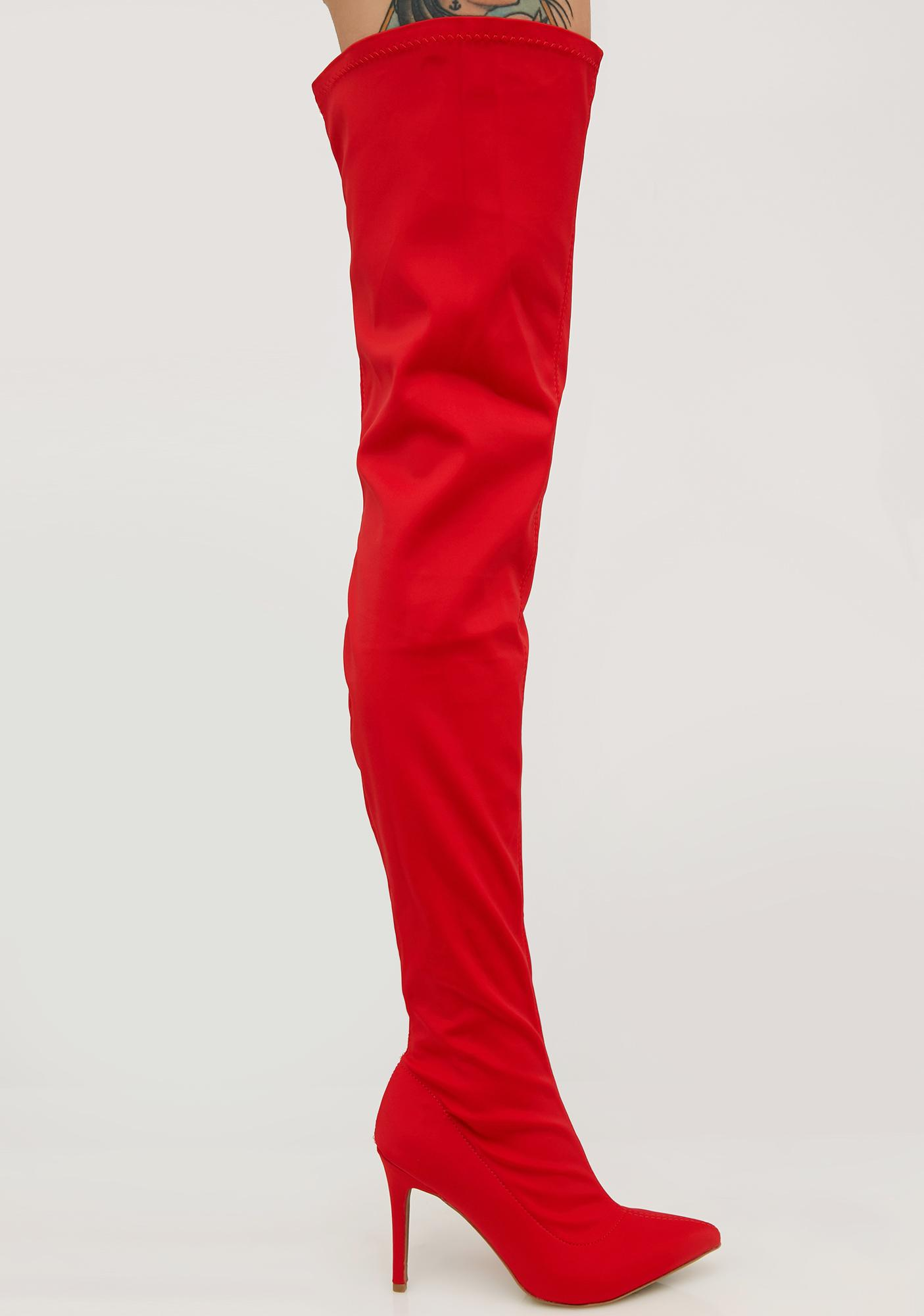 Akira Over The Knee Boots