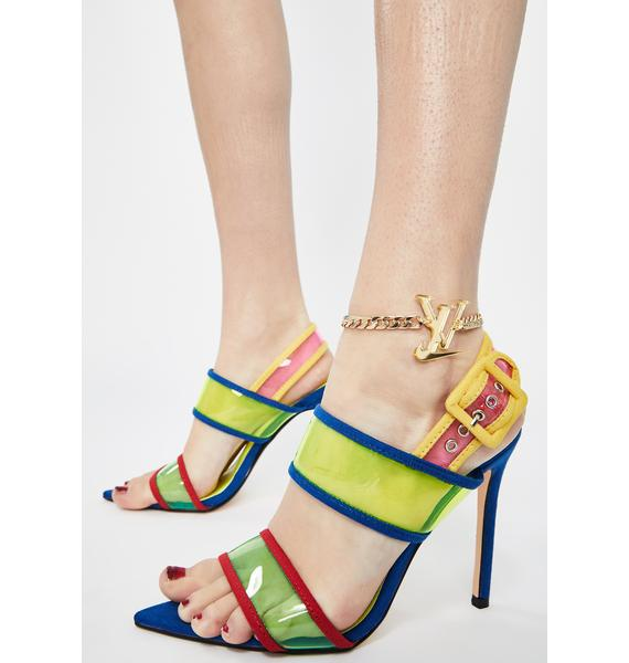 Amarachi Gold Sporty Luxe Anklet