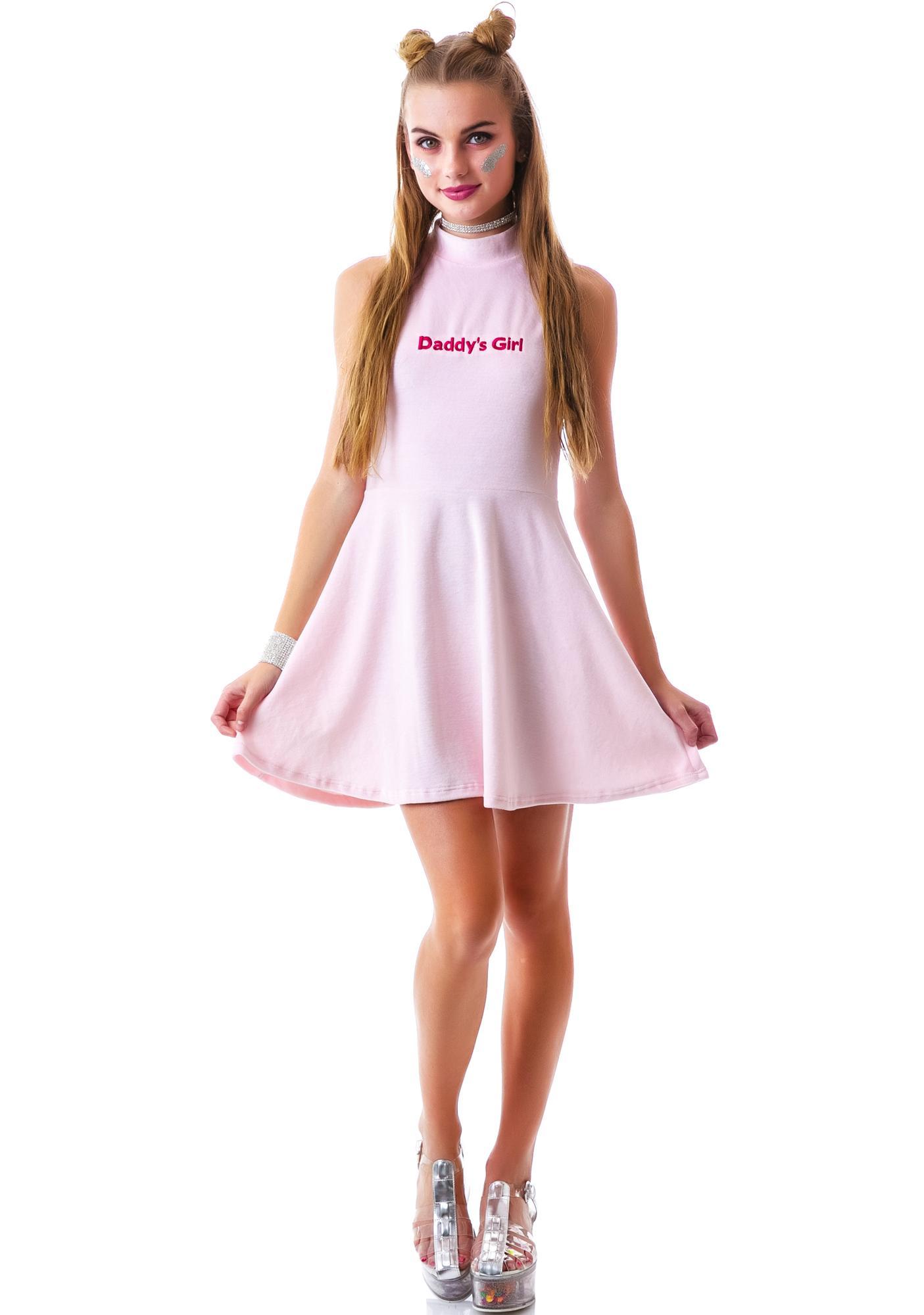 745545f28 United Couture Daddy's Girl Velvet Sugar Dress | Dolls Kill