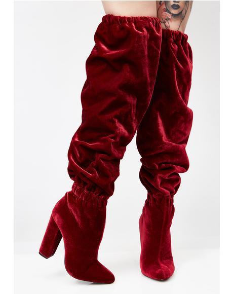 Seryn Slouchy Knee High Boots