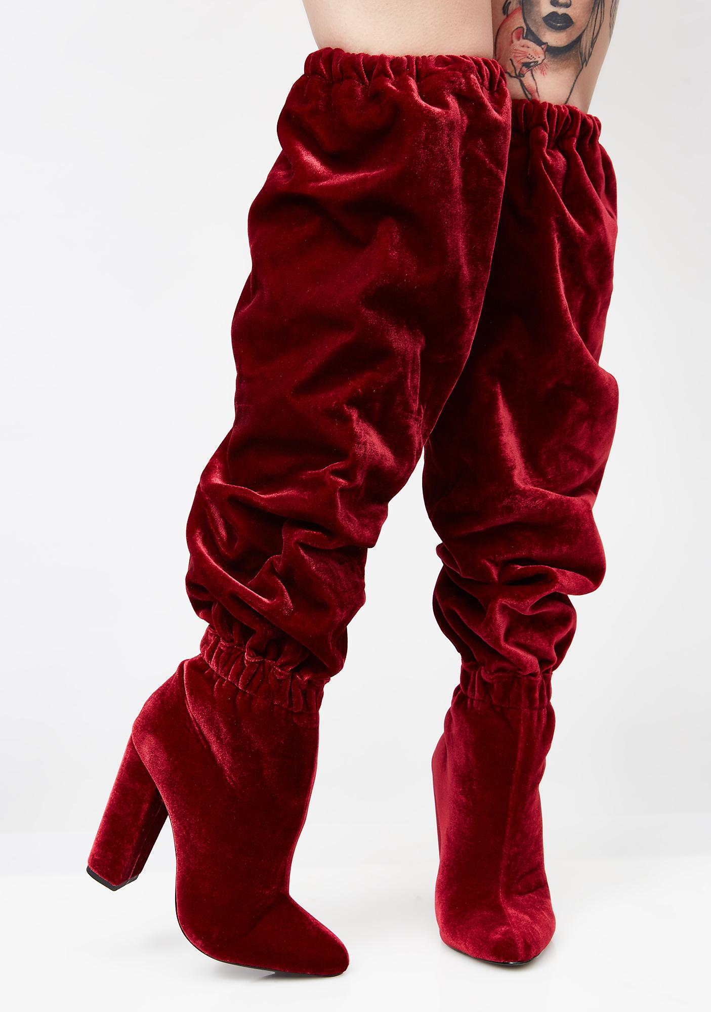 Privileged Seryn Slouchy Knee High Boots