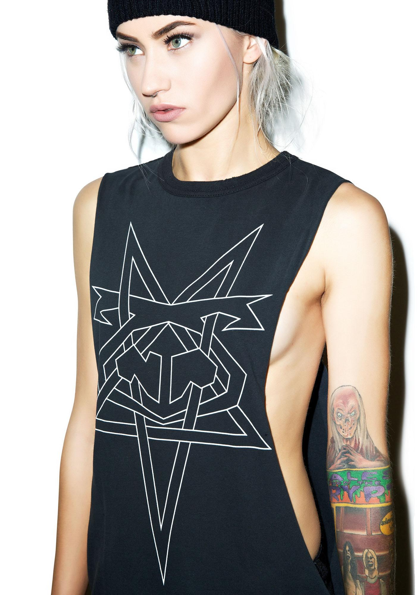 Nasty Pig Pentagram Shredder Tank