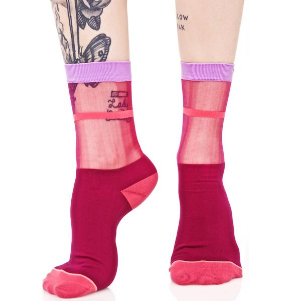 Stance Ruby Foxy Sheer Anklet Sock