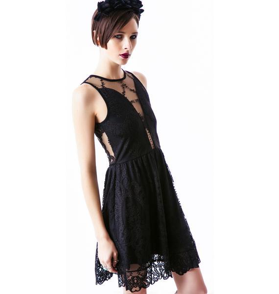 For Love & Lemons LuLu Lace Dress