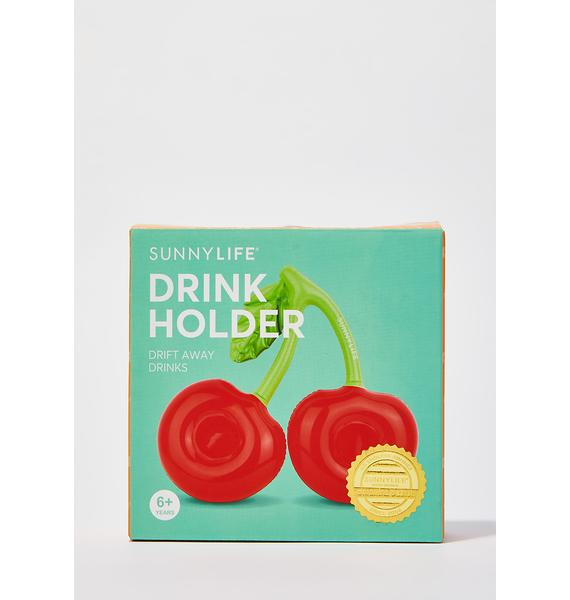 Sour Cherry Inflatable Drink Holder