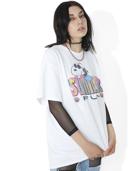 Vacation Snoopy Tee