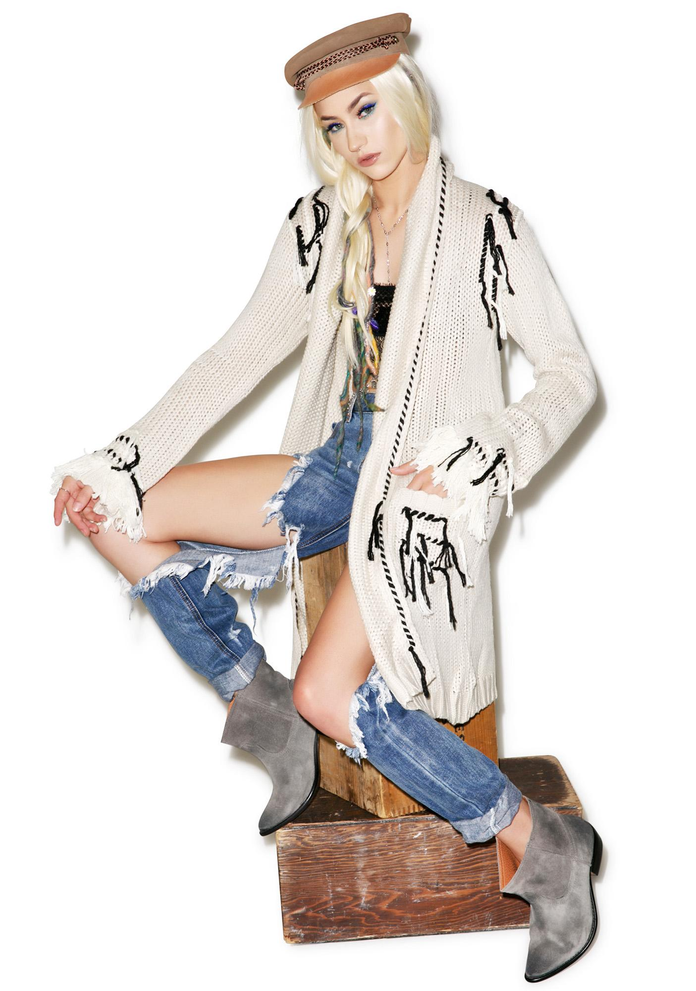 For Love & Lemons Denver Cardigan
