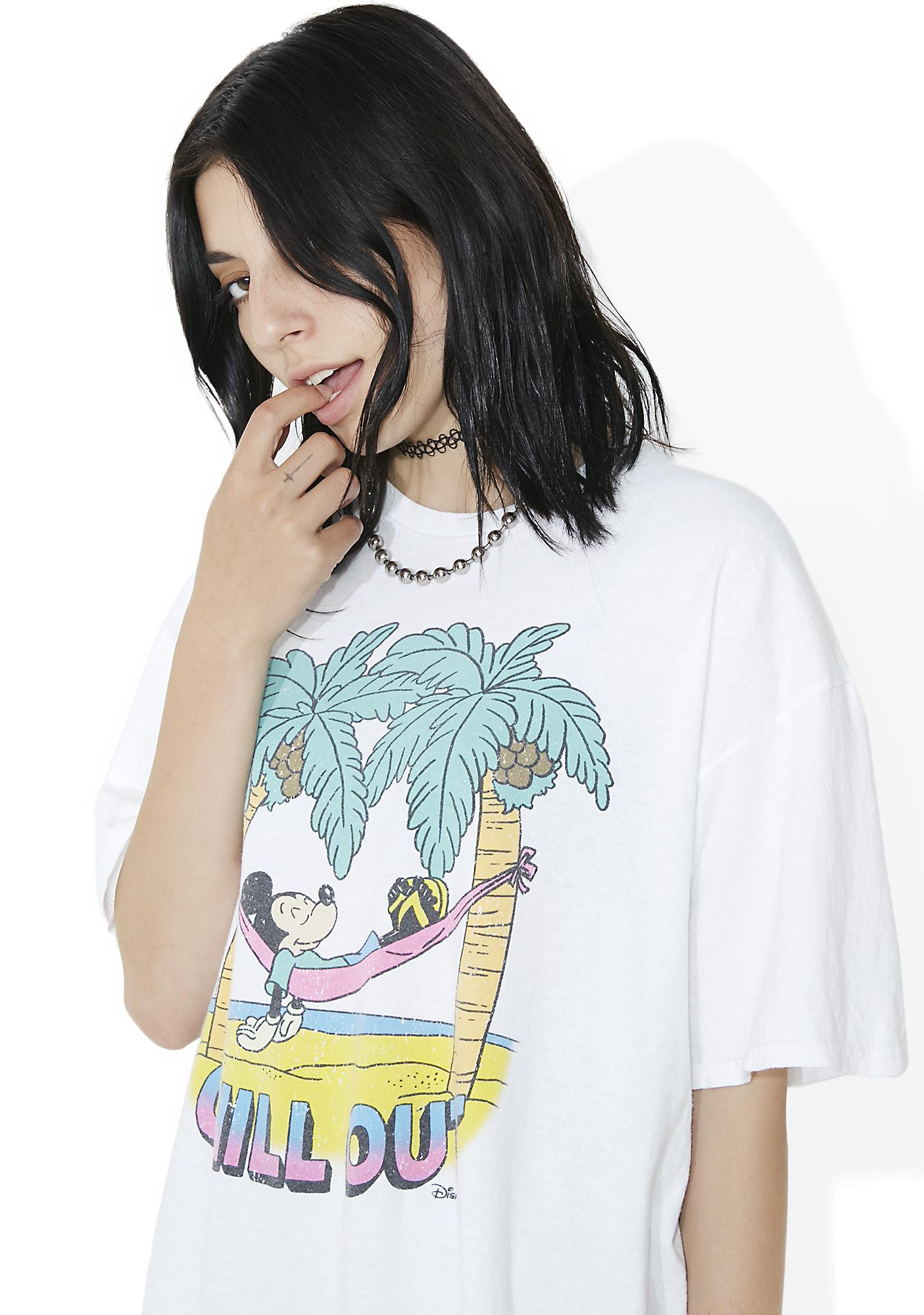 Junk Food Clothing Chill Out White Tee