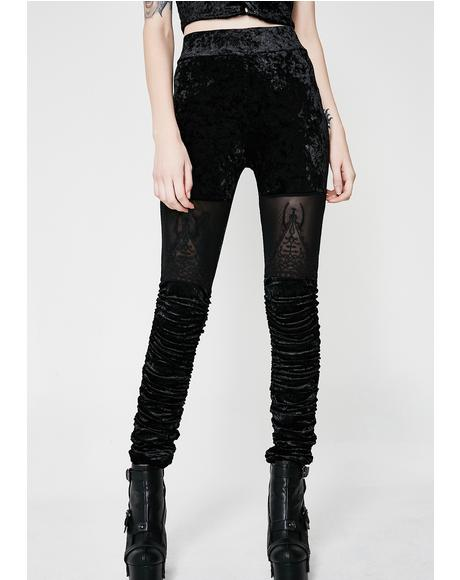 Nightshade Velvet Leggings