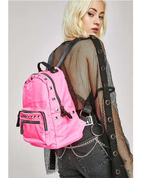 Pretty Vacant Studded Backpack