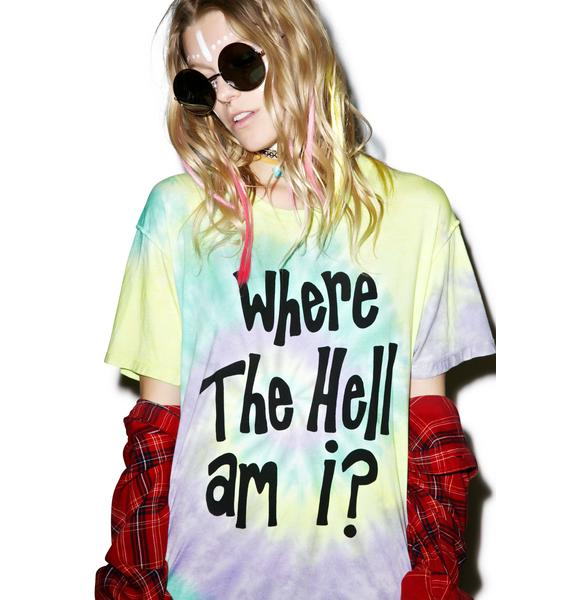 Jac Vanek Where The Hell Am I Perfect Tee