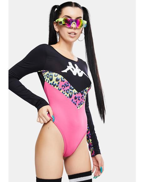 Authentic Daiana Graphik Bodysuit