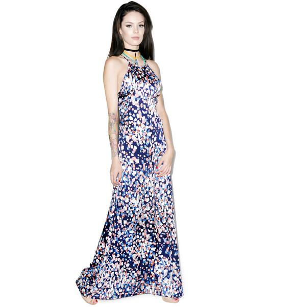 Jac Vanek Florence Confetti Dress