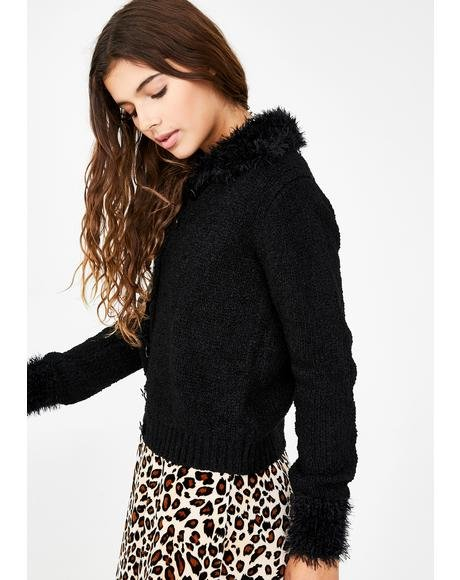 Call Me Crazy Boucle Sweater