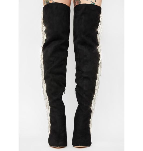Leave A Message Knee High Boots