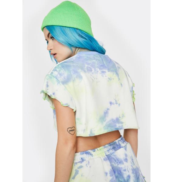 HOROSCOPEZ Green Goddess Pajama Top
