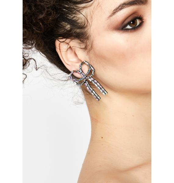 Only The Finest Bow Earrings
