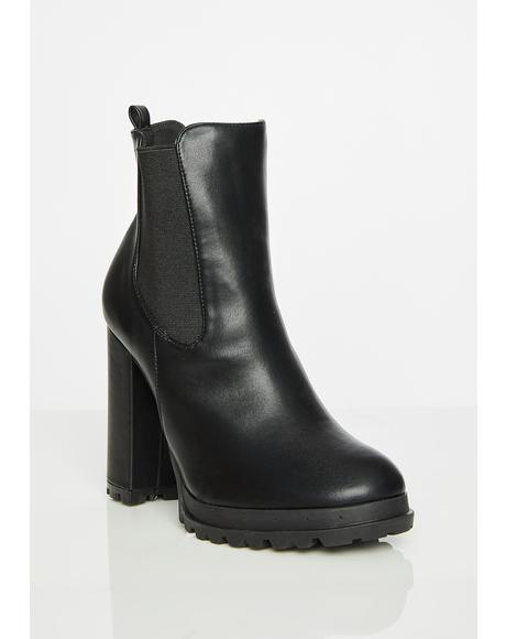 Wicked Walk This Way Ankle Boots