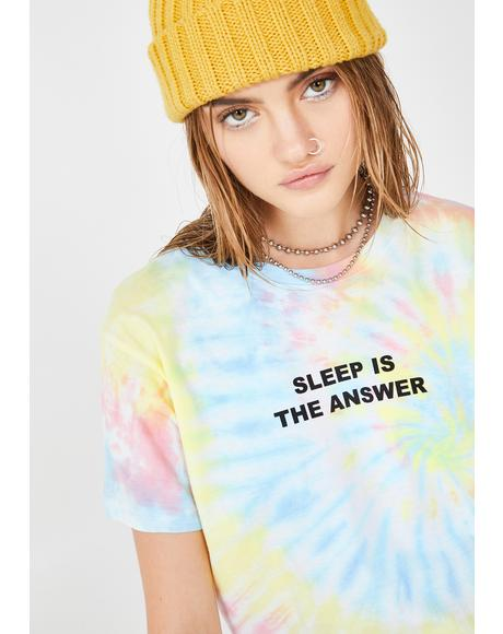 Sleep Is The Answer Graphic Tee