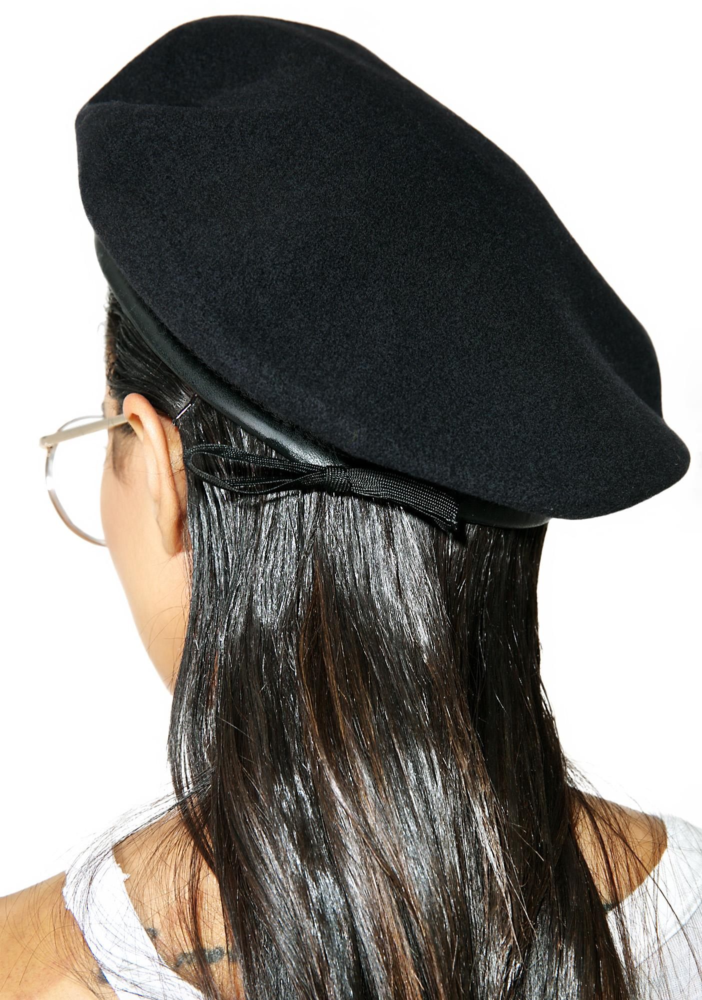 Working Girls Co Hand Patch Beret