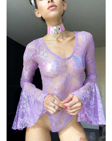 Pixie Dust Lace Bodysuit