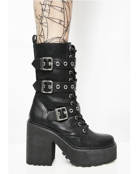 Vendetta Platform Boots