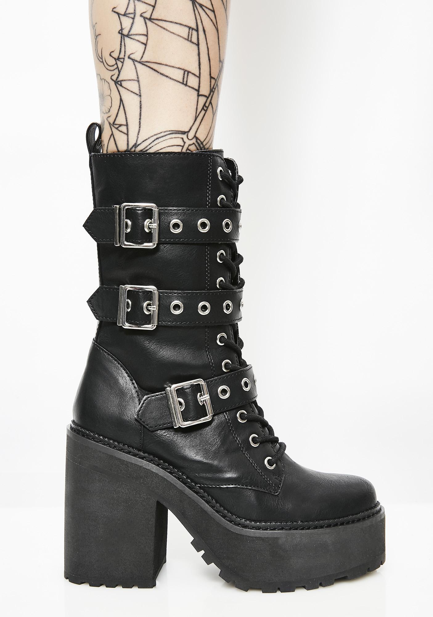 Killstar Vendetta Platform Boots