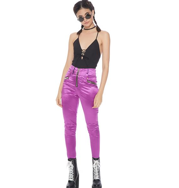 Bright Idea Satin Pants