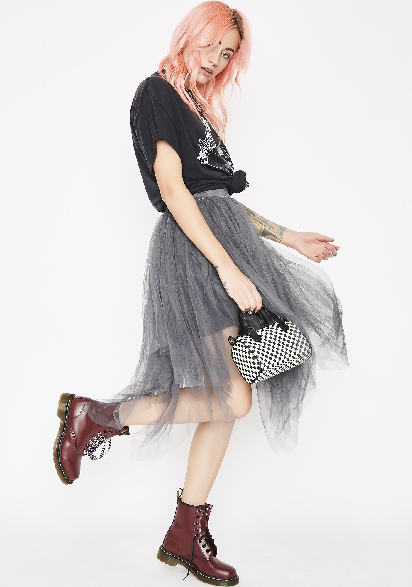 Twirlin' On Haterz Tulle Skirt