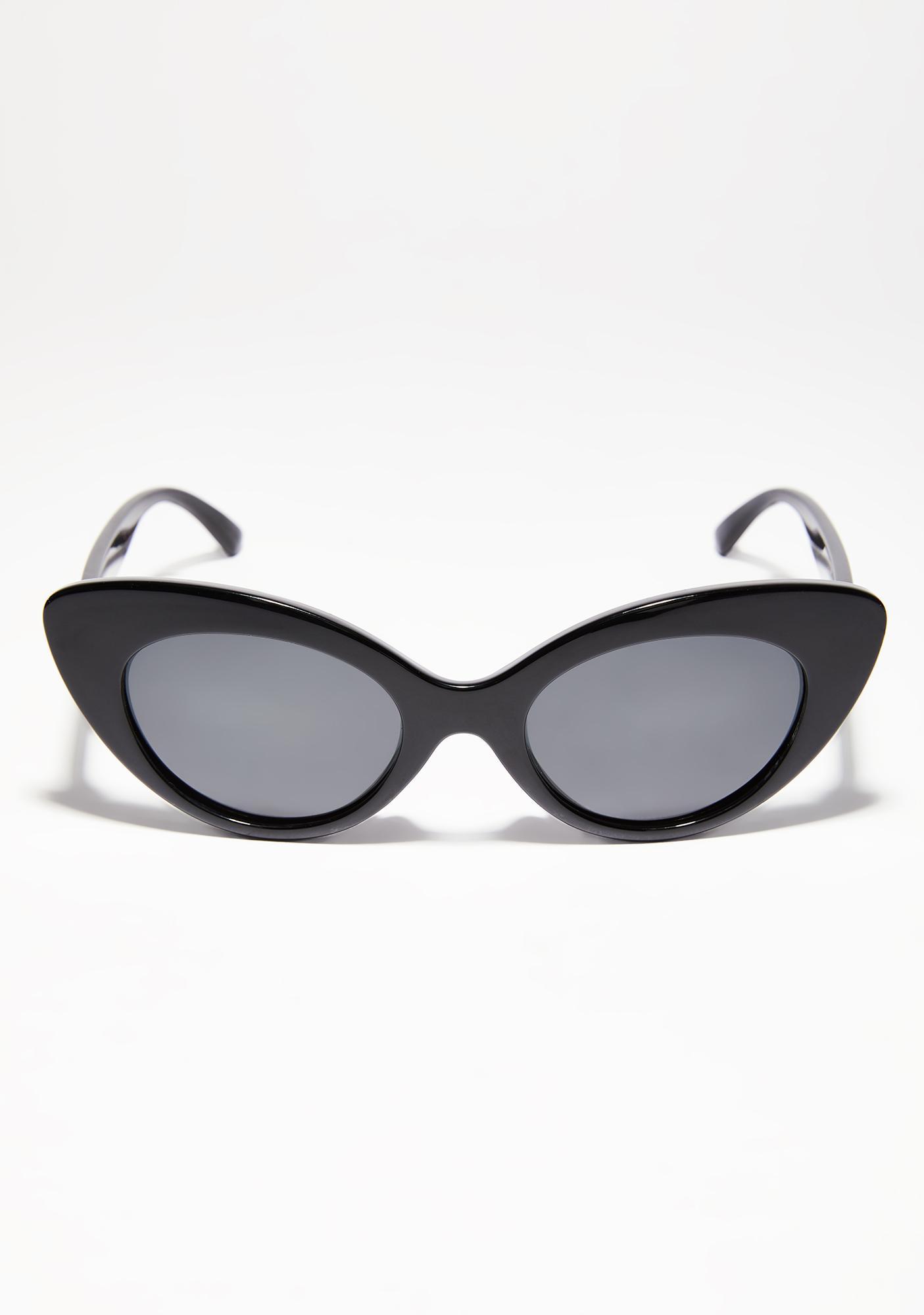 Crap Eyewear The Wild Gift Gloss Black Sunglasses