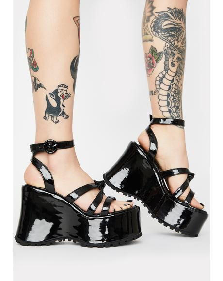 Point Break Platform Heels
