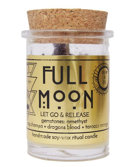Full Moon Ritual Candle