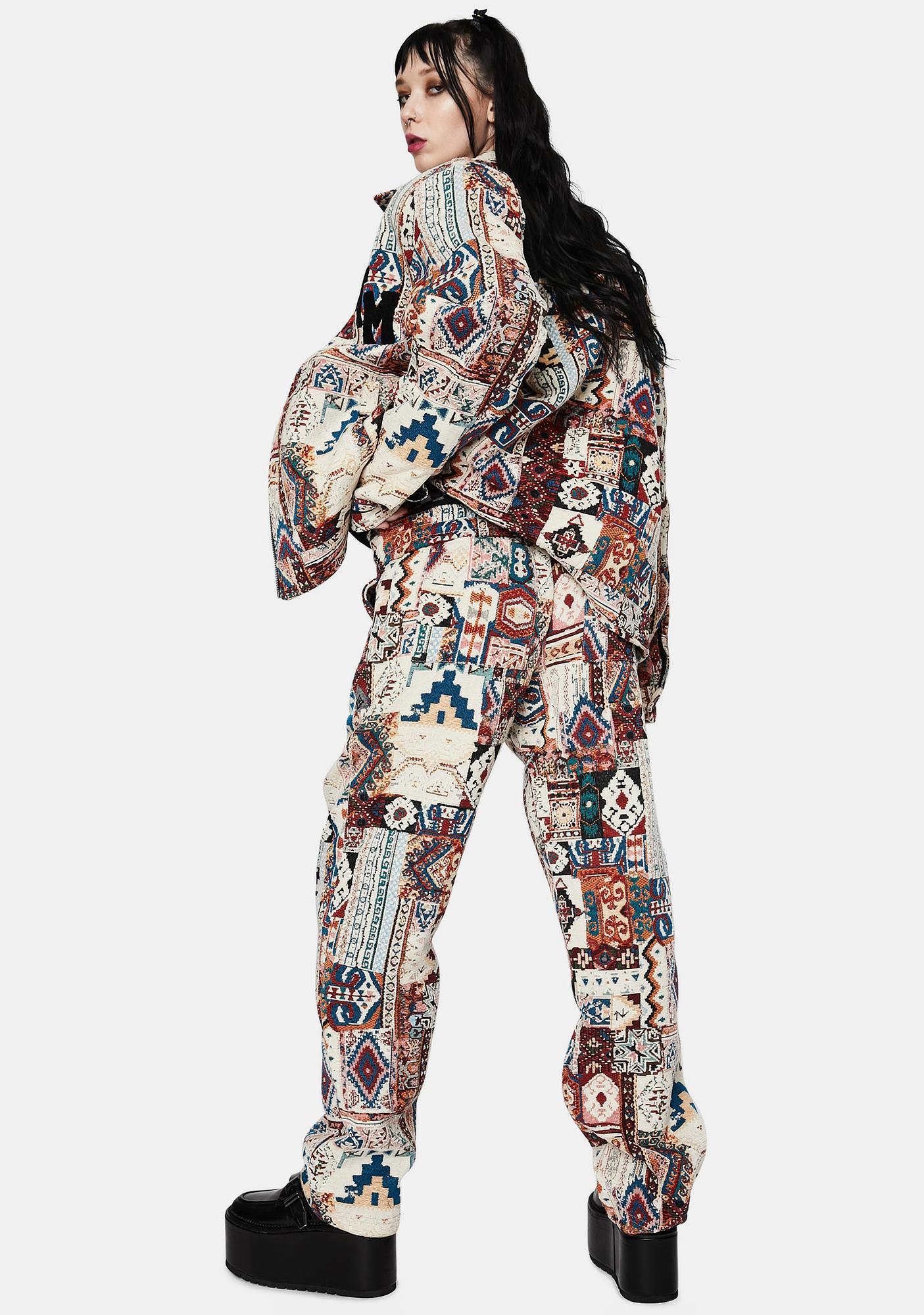 CHINATOWN MARKET Patchwork Pants