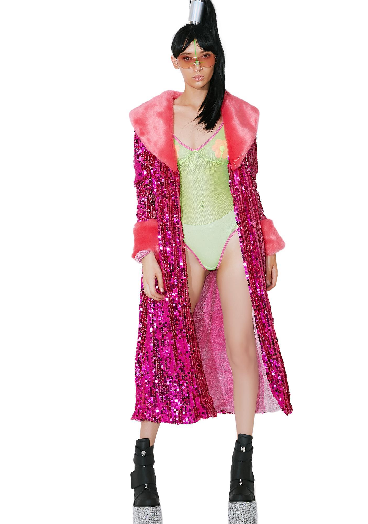 EASY TIGER Feeling Pink Festi Coat