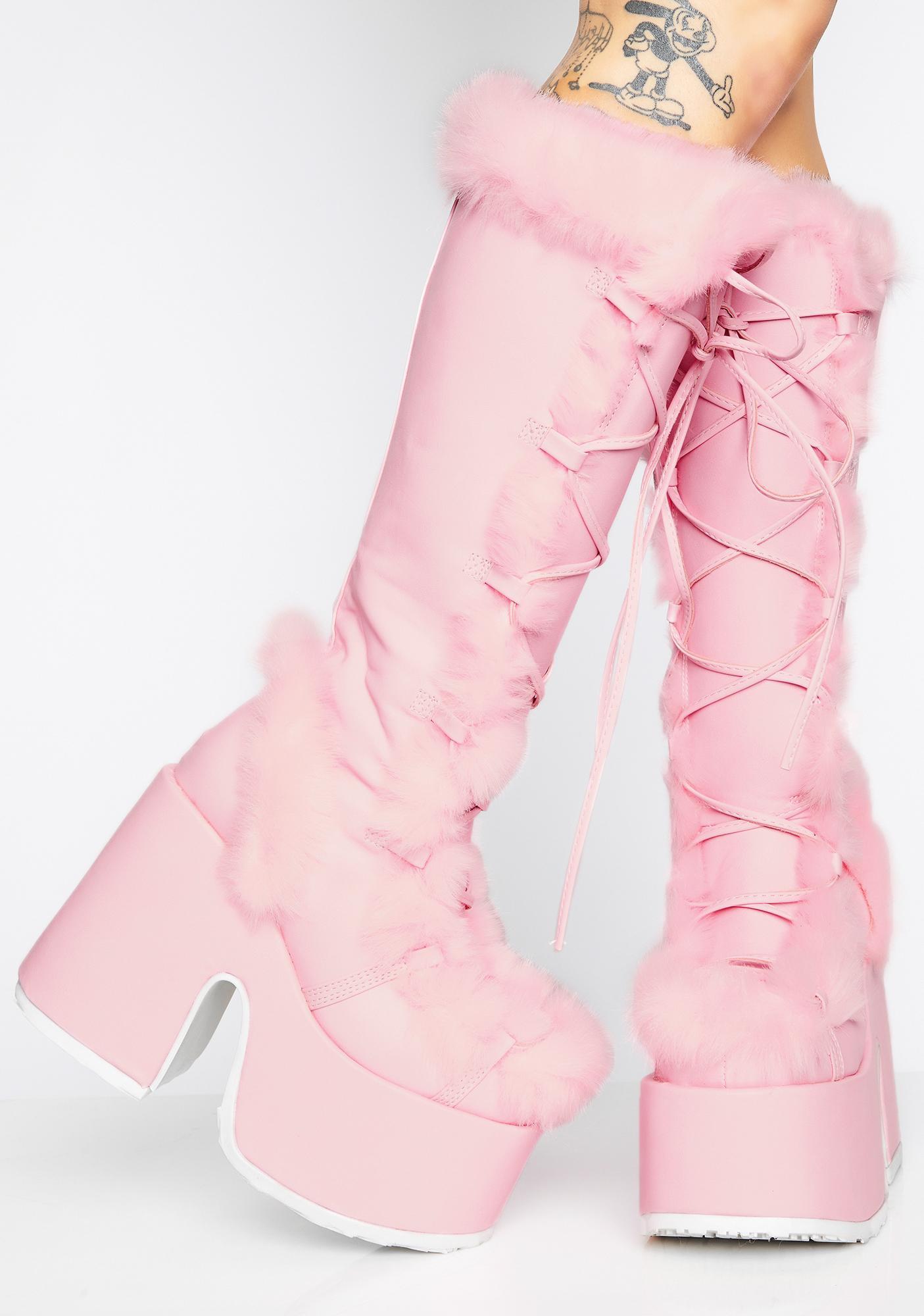 611470107d2 Demonia Sweet Pure Vigilance Platform Boots