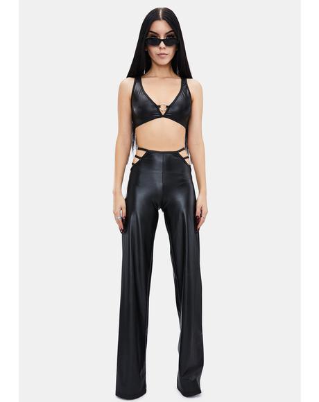 Vegan Leather At First Sight Pant Set