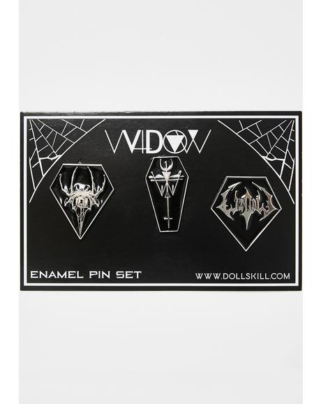 Dark Destiny Enamel Pin Set