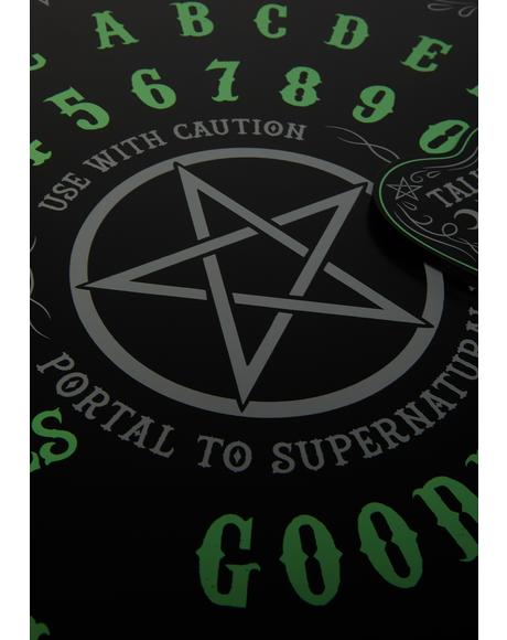Talk 2 Me Glow In The Dark Ouija Board