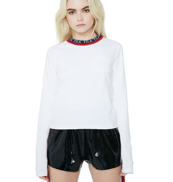 Fila Rebecca Long Sleeve Top