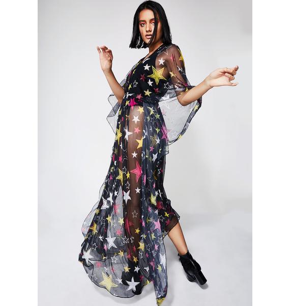 Kiki Riki Ur A Star Maxi Dress