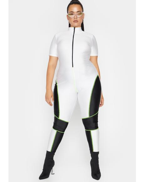 She's Ready Set Slay Tricot Jumpsuit
