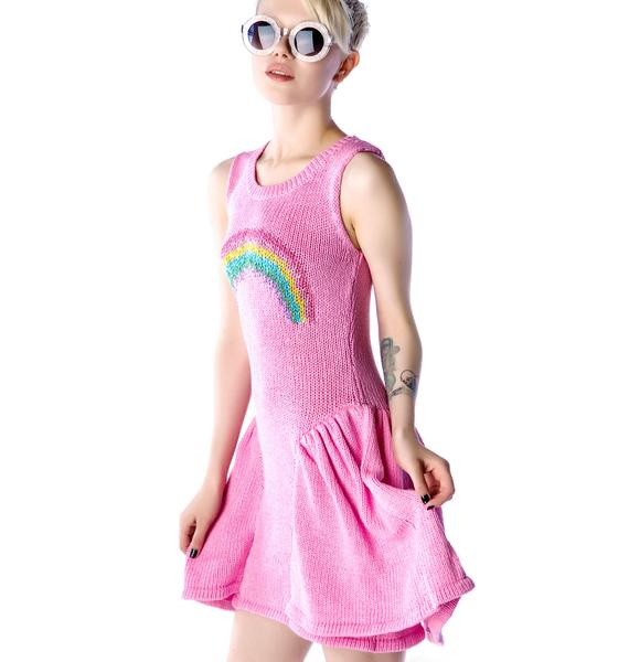 Wildfox Couture Little Rainbow Liv Dress