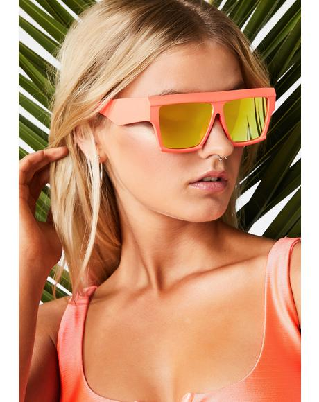 Summer Serenity Mirrored Sunglasses