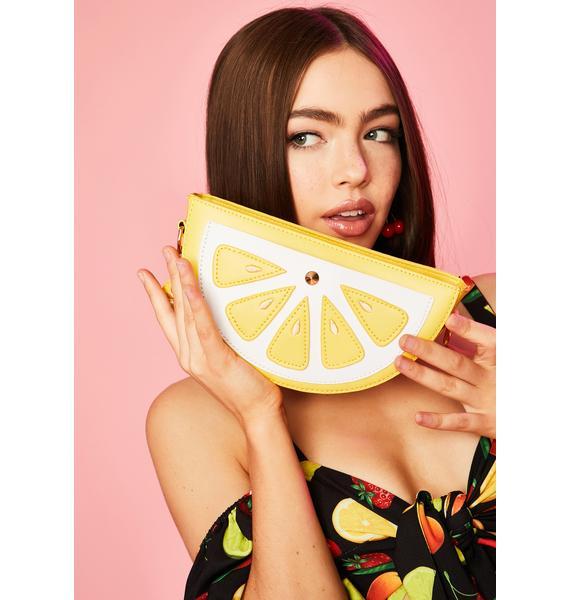 Citrus Splash Crossbody Bag