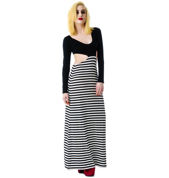 Our Prince of Peace Jailbait Maxi Dress