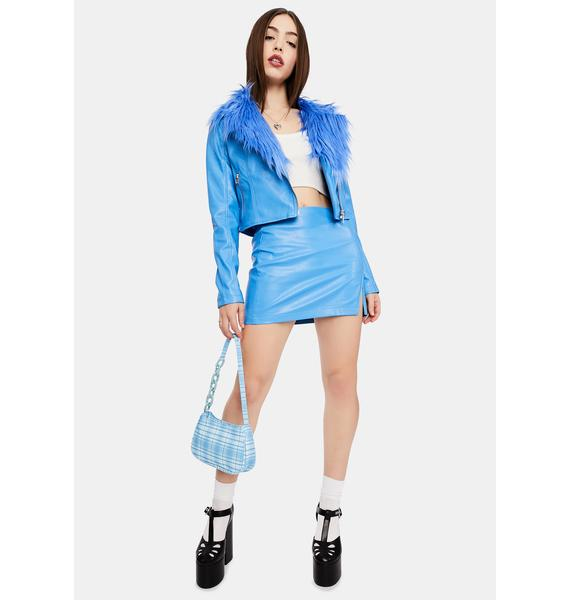 dELiA*s by Dolls Kill First Snowfall Mini Skirt