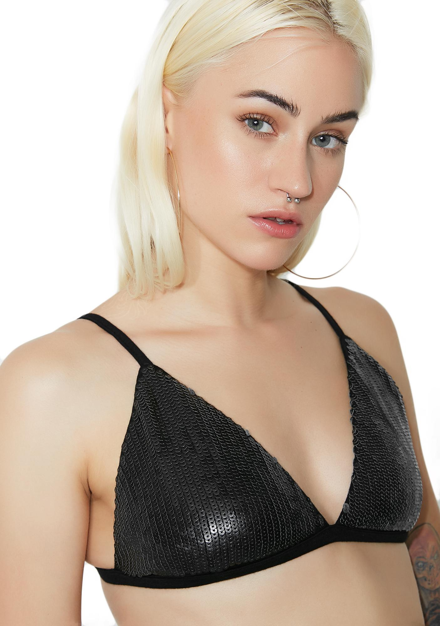 All That Glimmers Sequin Bralette
